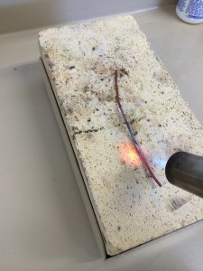Annealing copper wire