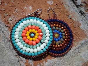 circulos earrings