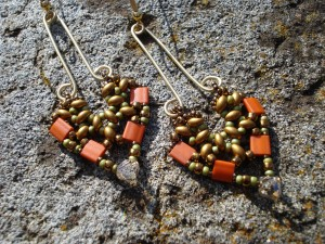 pendulum duet earrings