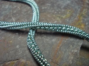 herringbone rope twist
