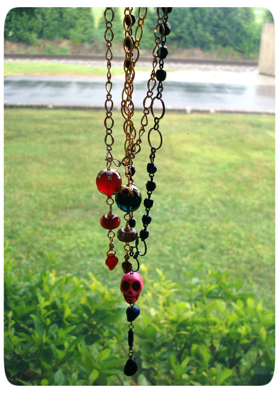 Dangly Necklaces: Lindsay's Last Blog Post!