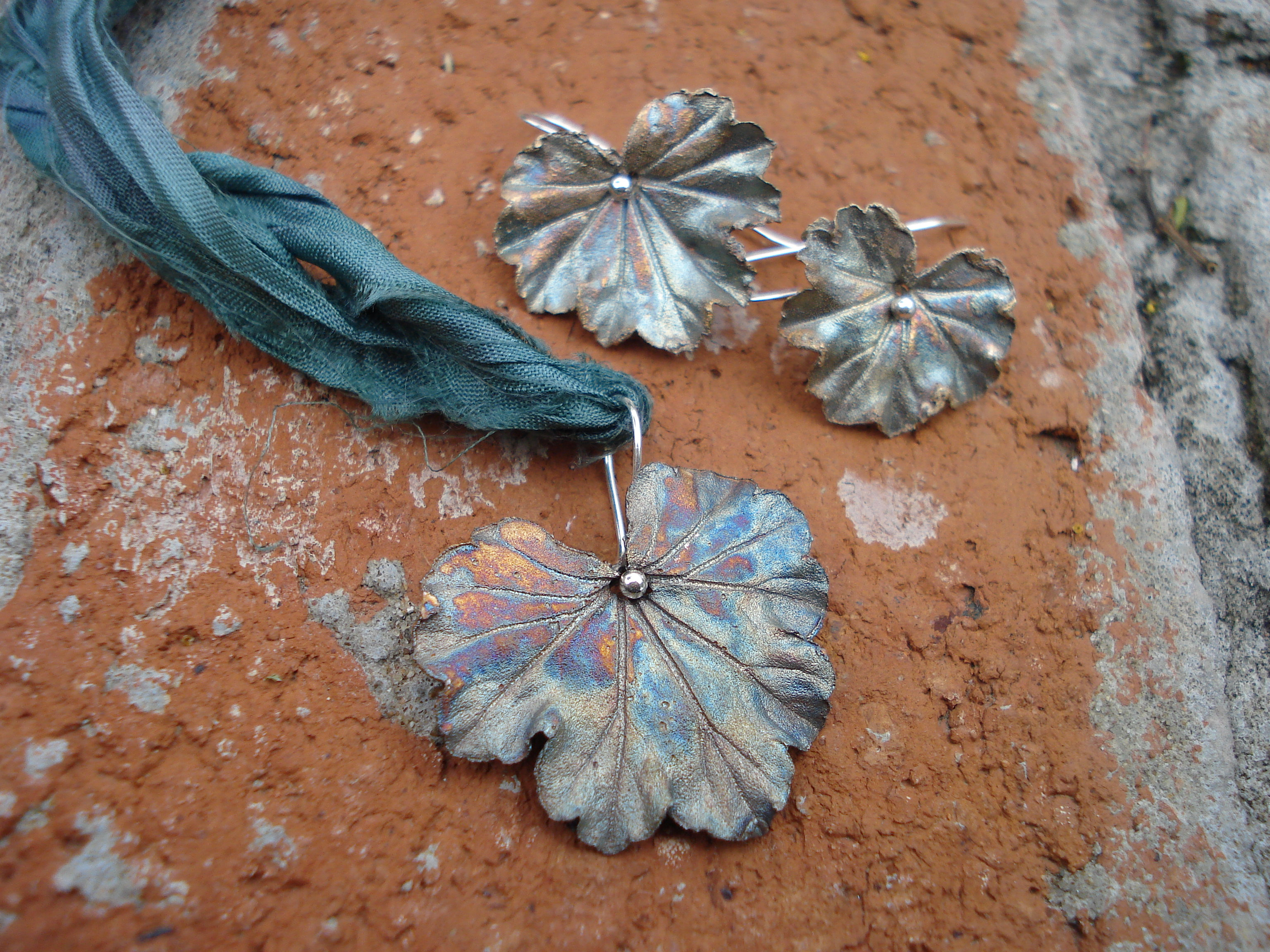 Autumn Leaf Pendant with Christiane Ross