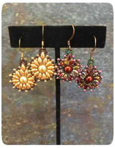 Flower Earrings Video Tutorial