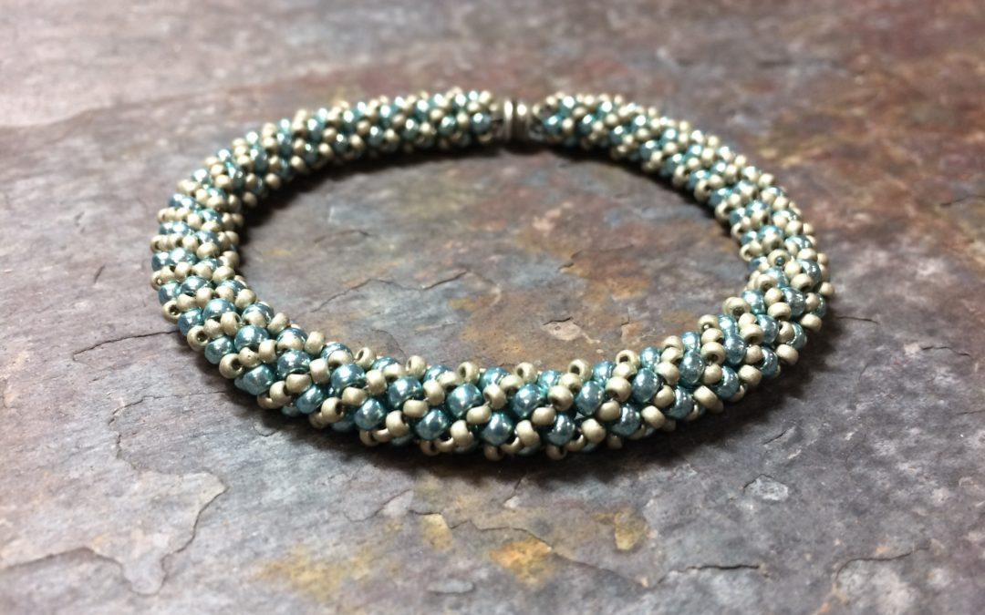 Russian Spiral Stitch – for bracelet or necklace