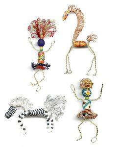 dolls and animals